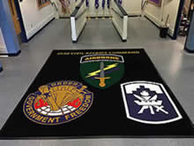 Custom Made Logo Mat Purchased On GSA Contract - 353rd Civil Affairs Command Staten Island, New York