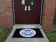 Custom Made Logo Mat Purchased On GSA Contract - Department Of Homeland Security - Kansas City Kansas