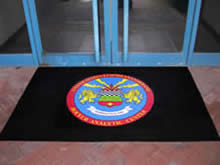 Custom Made Logo Mat Purchased On GSA Contract - Royal Air Force Molesworth United Kingdom