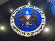 Custom Made Logo Mat Purchased On GSA Contract - National Security Agency Fort Meade Maryland