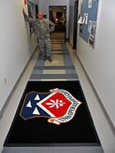 Custom Made Logo Mat Purchased On GSA Contract - Ohio Air National Guard 179OSF Mansfield Ohio