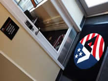 Custom Made Logo Mat Purchased On GSA Contract - Veterans Administration Office Of Community Affairs William Paterson University Wayne New Jersey